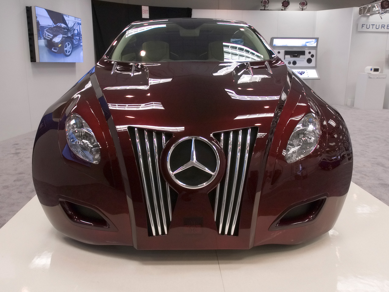 Alpine imprint rls demo car mercedes r500 wallpapers by for Mercedes benz demo cars