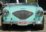 Austin Healey 100 4 BN1 Wallpapers