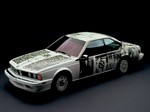 BMW 635 CSi Art Car by Robert Rauschenberg Wallpapers