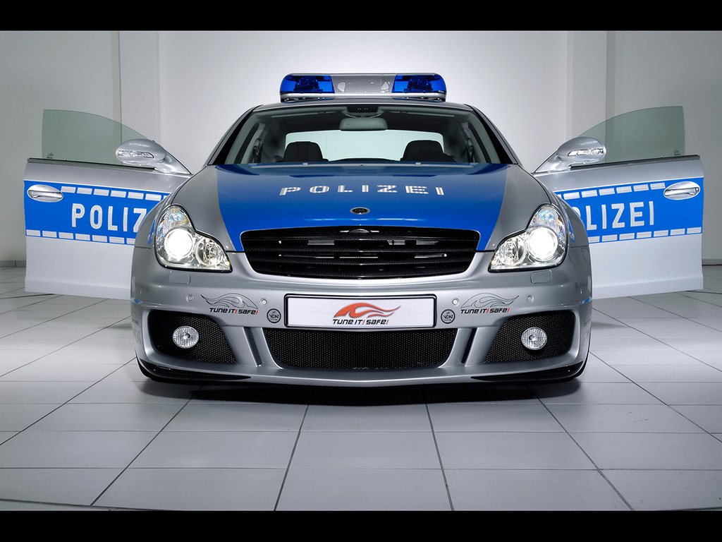 Brabus Rocket Police Car Wallpapers