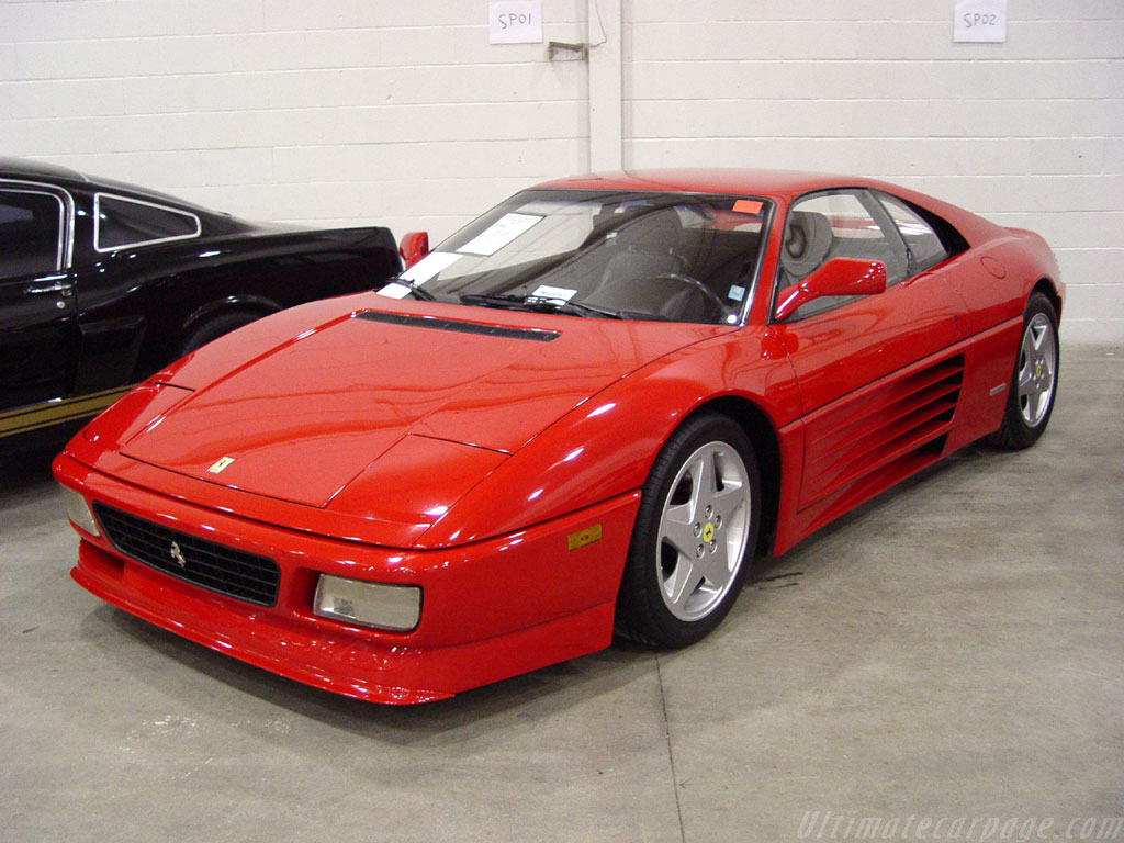 Ferrari 348 Gts Wallpapers By Cars Wallpapersnet