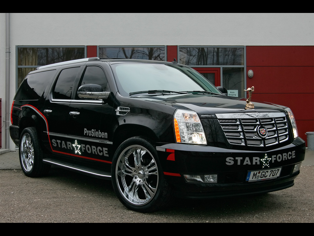 geigercars star force cadillac escalade What about the new Sport Utility Vehicle in American market   2012 Cadillac Escalade