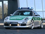 TechArt 911 Carrera Police Car Wallpapers