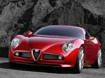 Alfa Romeo 8C Competizione Concept Wallpapers