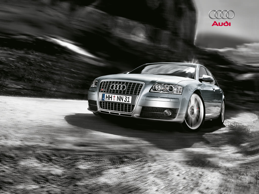 Audi S8 450-HP V10 Engine Wallpapers by Cars-wallpapers.net