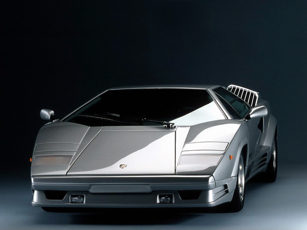 Lamborghini Countach QV Rear End [x HD Wallpaper