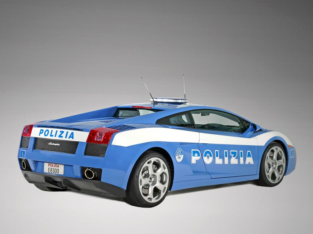 Lamborghini Gallardo Italian State Police Wallpapers