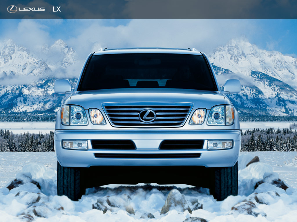 Lexus LX Premium Luxury Utility Vehicle Wallpapers
