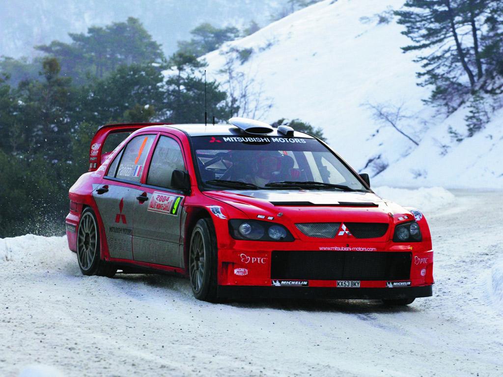 Mitsubishi Lancer Evolution WRC Wallpapers