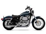Harley Davidson XL883H Wallpapers