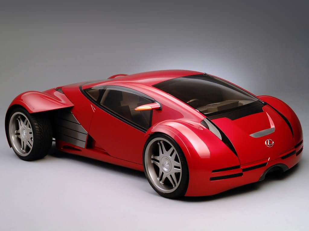 Lexus Minority Report Sports Car Wallpapers by Cars-wallpapers.net