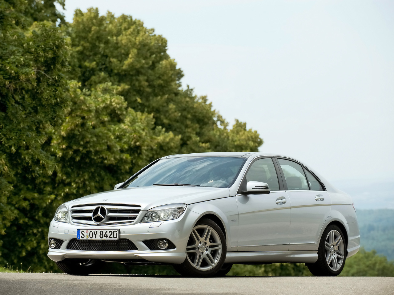 2009 mercedes benz c 250 cdi blueefficiency wallpapers by for Mercedes benz cdi