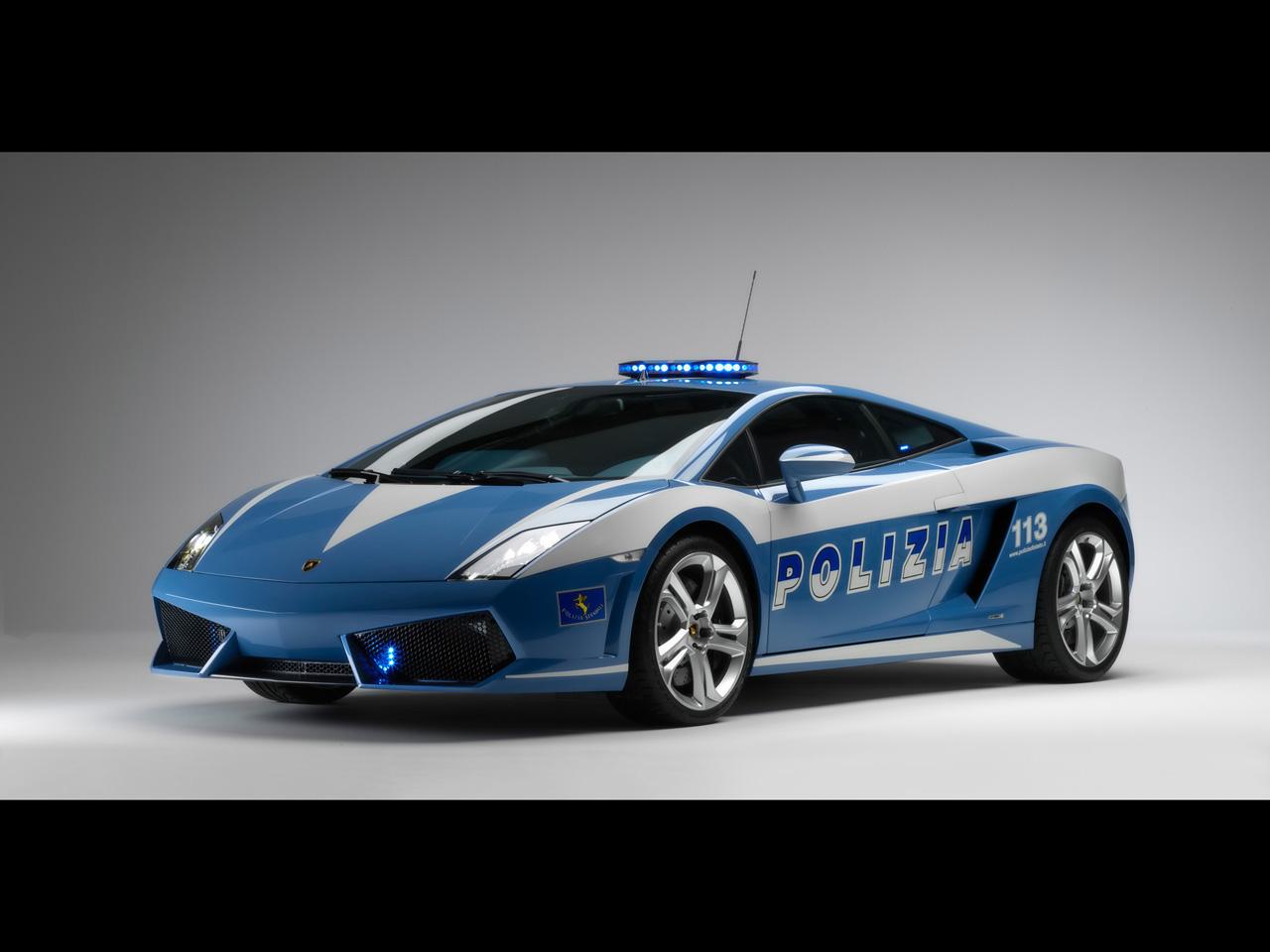 2009 Lamborghini Gallardo LP560-4 Polizia Wallpapers in High ...