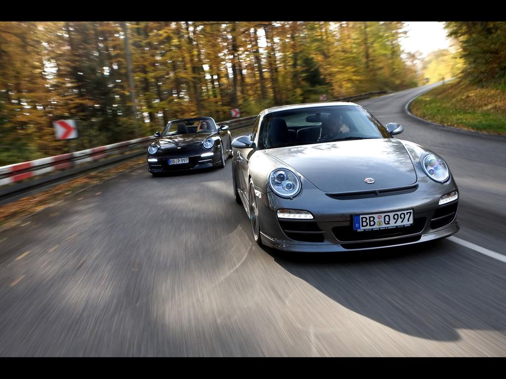 2009 TechArt Porsche 911 Aerokit I Wallpapers by Cars-wallpapers.net