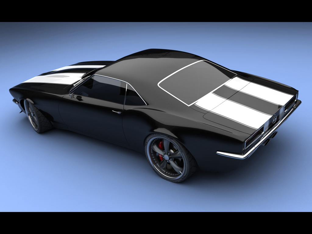 camaro concept ss 22 1967 wallpapers by carswallpapersnet