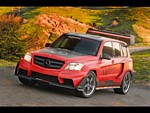 2009 Mercedes Benz GLK Pikes Peak Rally Racer Wallpapers