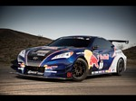 2009 RMR Red Bull Hyundai Genesis Coupe Wallpapers