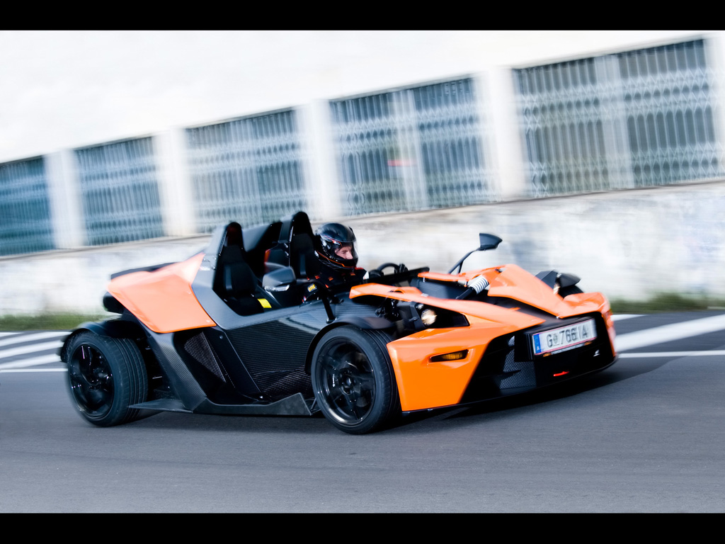 2009 KTM X Bow Street Wallpapers