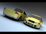 2009 Volvo V70 Pickup Concept Design Wallpapers