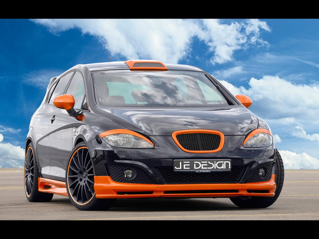 2009 Je Design Seat Leon Wallpapers By Cars Wallpapersnet