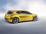 2009 Lexus LF Ch Compact Hybrid Concept Wallpapers