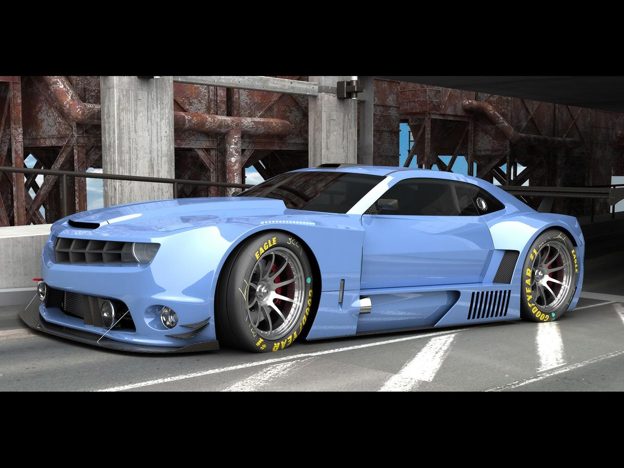 2010 Chevrolet Camaro Alms Style Race Car Wallpapers By