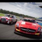 2011 Mercedes-Benz SLS AMG GT3 Black Falcon