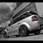 2011 Project Kahn Range Rover Silver Wallpapers