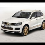 2011 Volkswagen Touareg Gold Edition Wallpapers