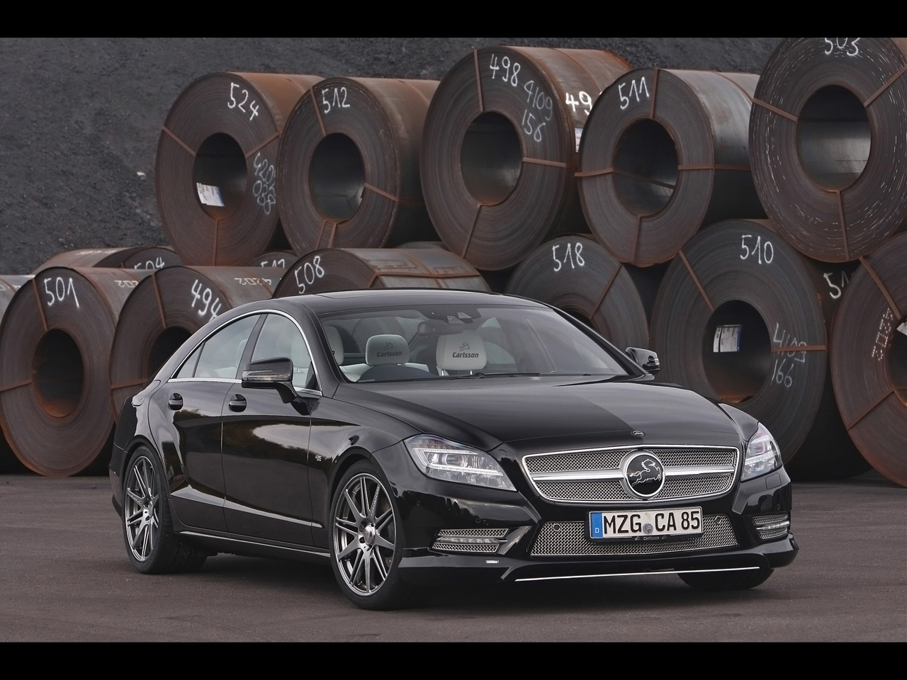 2012 Carlsson Mercedes Benz CLS CK63 Wallpapers