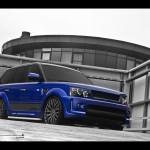 2012 A Kahn Design Imperial Blue Range Rover Wallpapers
