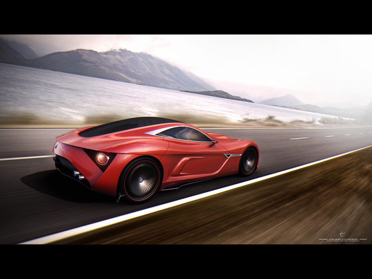 ... 2012 Ugur Sahin Design Alfa Romeo 12C GTS Wallpapers