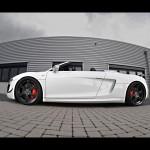 2012 Wheelsandmore Audi R8 Spyder GT Triad Bianco