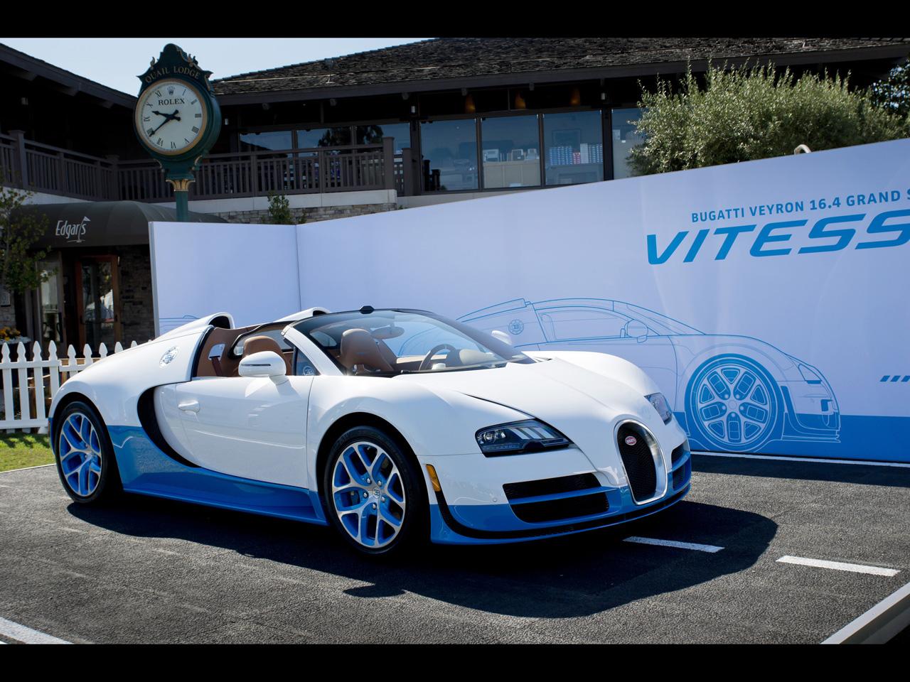 Bugatti Veyron Grand Sport Vitesse Wallpaper: Bugatti Wallpapers By Cars-wallpapers.net