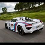 2012 Porsche 918 Spyder Martini Design Prototype