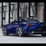 2012 Lexus LF LC Blue Concept Wallpapers